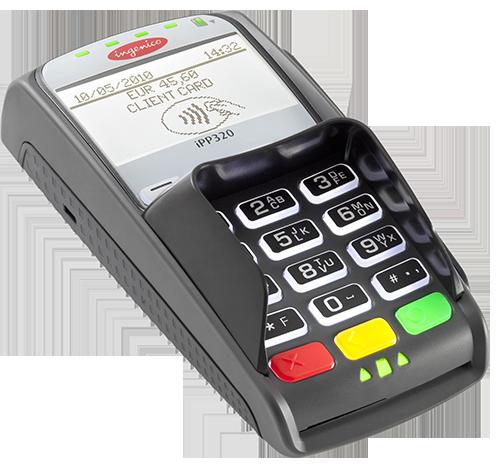 Клавиатура выносная\ автономная Ingenico IPP320 USB, RS232, Ethernet, Эвотор PAY