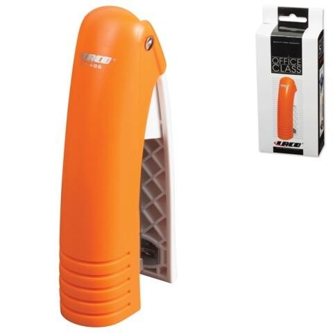 Степлер №24/6, 26/6 LACO до 20л вертикальный SH486 пластик оранжевый