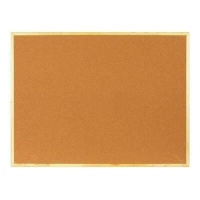 Доска пробковая 90x120 деревянная рамка GSF152001239