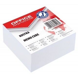 Блок для записей белый 85*85*40 Offise Product 14053311-14 проклеен.