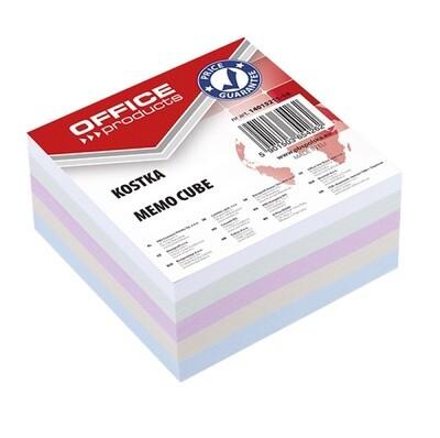 Блок для записей цветной 85*85*40 Offise Product непрокл. 14052311-99