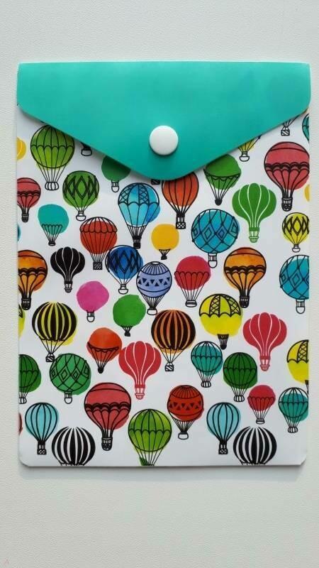 """Папка-конверт с кнопкой 158*114 ФЕНИКС+ """"Воздушные шары"""" 48251"""