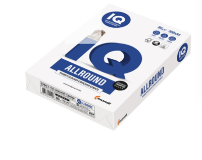 Бумага для орг.техники А5 IQ Allround 80гр/м2