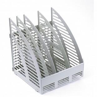 Лоток для бумаг вертик. 4 секции 1С56