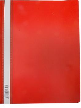 Скоросшиватель А4 ERICH KRAUSE пластик плотный 30658 красный
