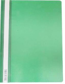 Скоросшиватель А4 ERICH KRAUSE пластик плотный 30659 зеленый