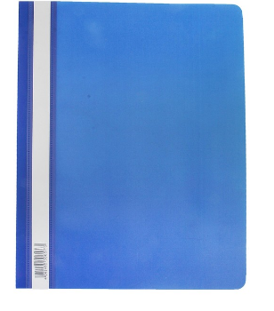 Скоросшиватель А4 ERICH KRAUSE пластик плотный 30657 синий