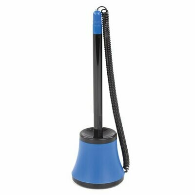 Ручка шариковая настольная 0.7мм BRAUBERG черн/синий корпус 141884
