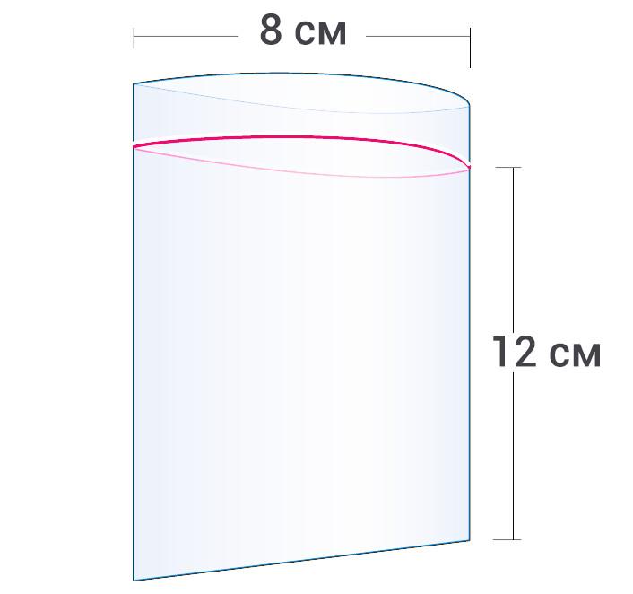 Пакет Zip-Lock 12x8см (100шт)