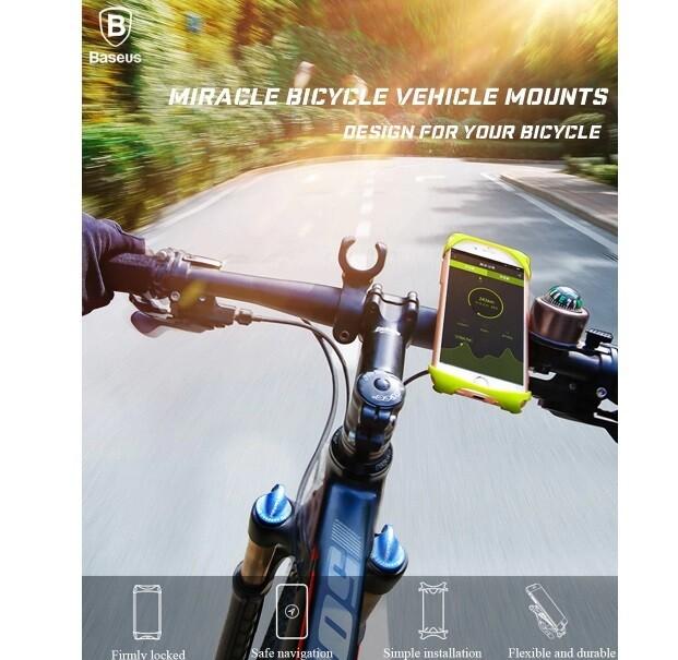 Держатель на руль велосипеда Baseus Miracle Bicycle Vehicle Mounts (SUMIR-BY01)