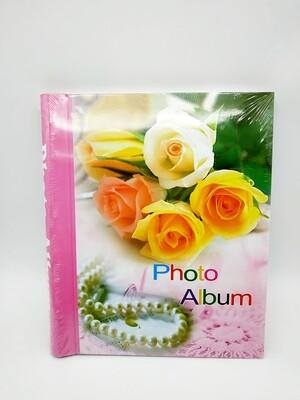 Фотоальбом 40 листов 21*29 магнит Цветы МИКС