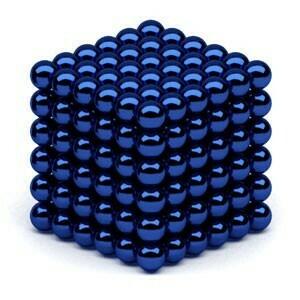 Неокуб 5 мм 6x6x6=216 шт. синий