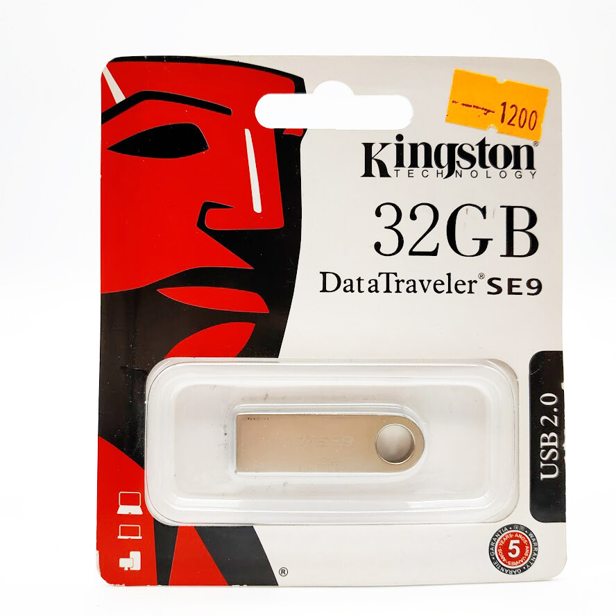 Флеш-накопитель Kingston DataTraveler SE9 32Gb DTSE9H/32GB