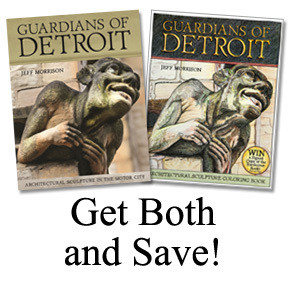 Guardians of Detroit Hardcover AND Coloring Book - Both Signed by the Author/Photographer/Illustrator