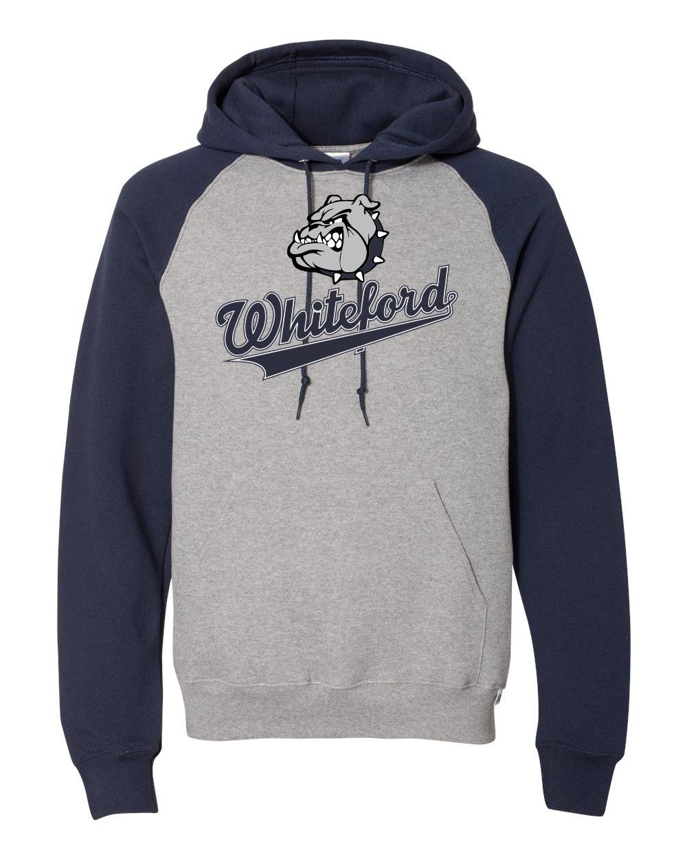 Whiteford Bulldogs Mens Raglan Hoodie