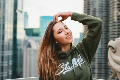 Stay Ill Army Olive Hoodie