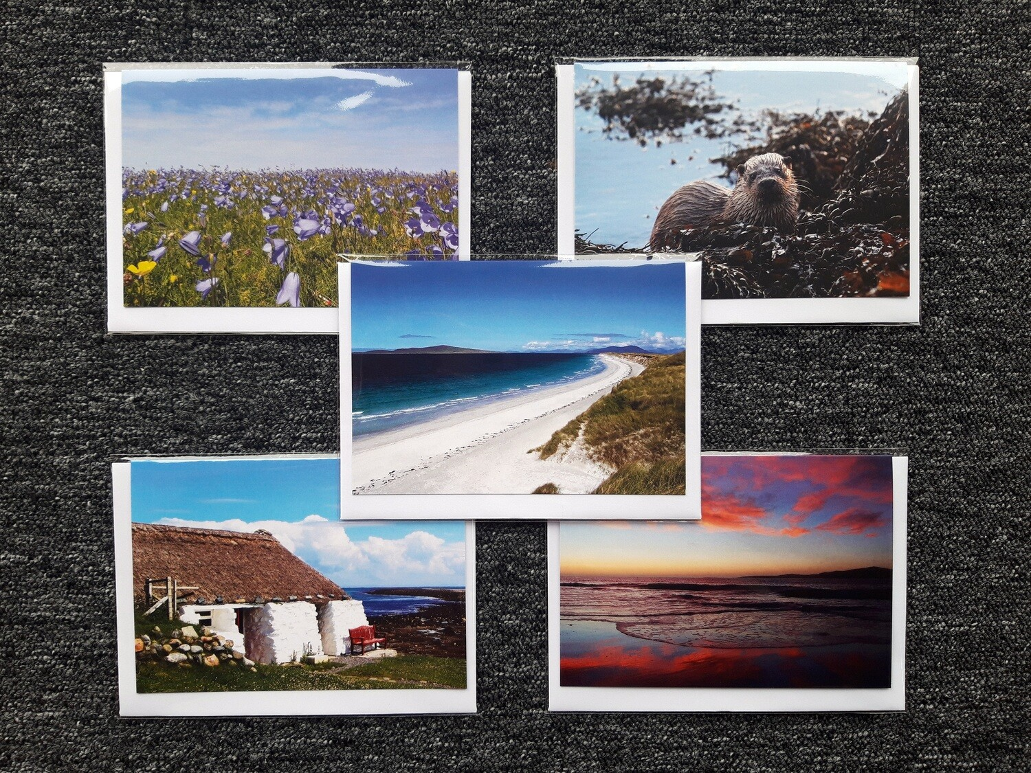 Greeting cards - pack of 5 mixed