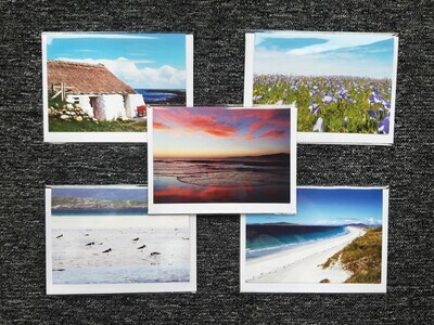 Greeting cards - pack of 5 mixed (A)