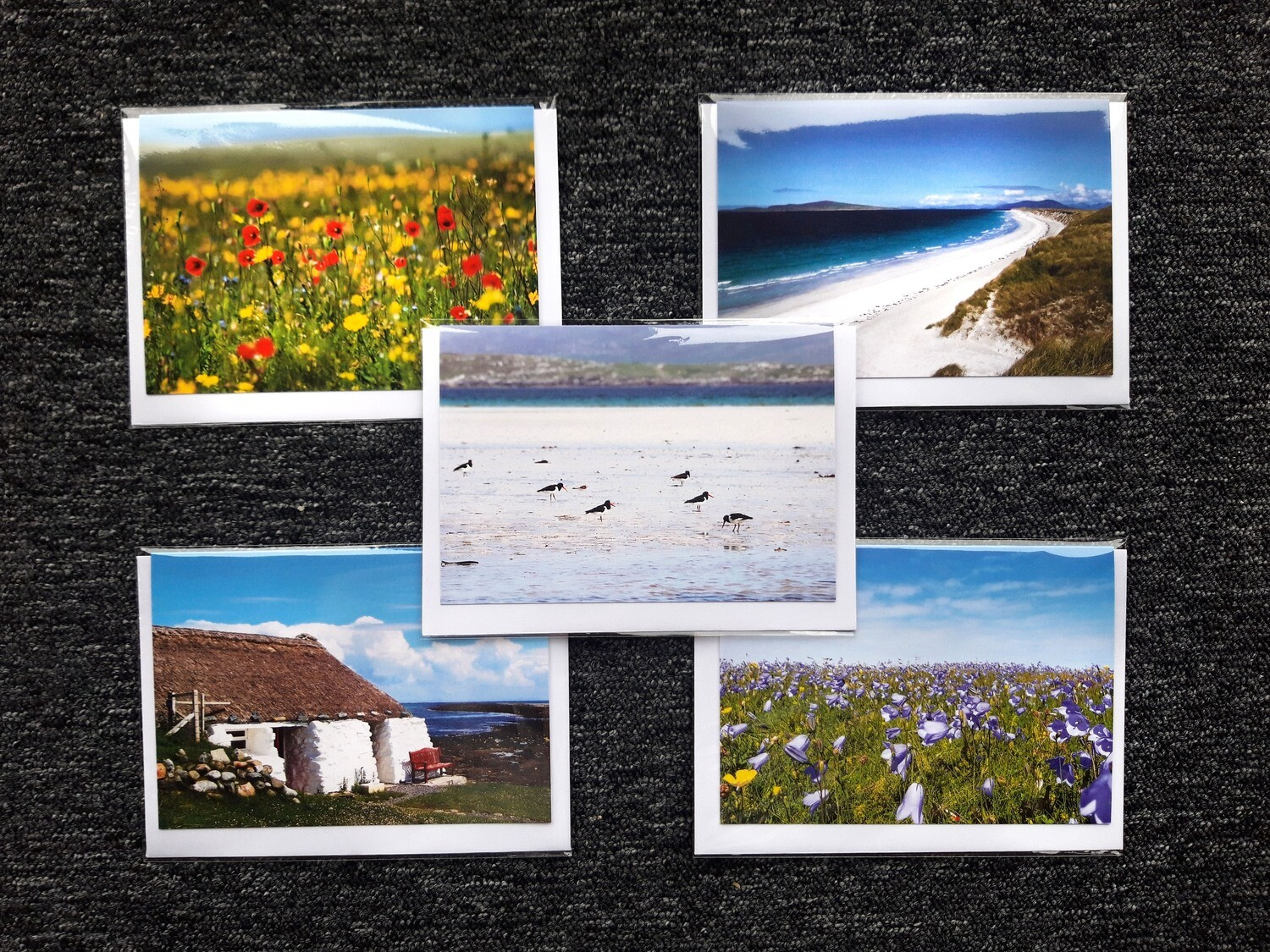Greeting cards - pack of 5 mixed (B)