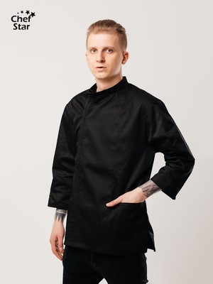 Китель Pesto (Песто), Black, Chef Star