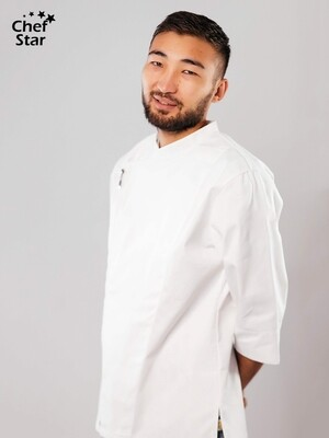 Китель Wasabi​ (Васаби), White, Chef Star