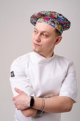 Берет Chef Star Punch Hat