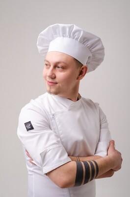 Поварской колпак Chef Star Classic Hat, белый