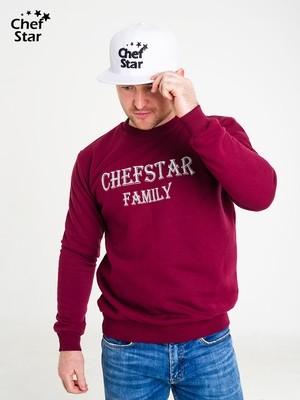 Снэпбэк (Snapback), White, Chef Star