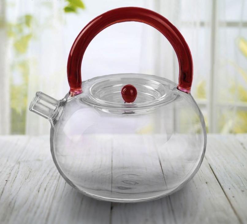 """Чайник заварочный """"Камелия"""", 600 мл (серый, коричневый)"""
