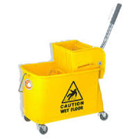 Trolley - Mopping with Wringer