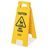 Sign Wet Floor