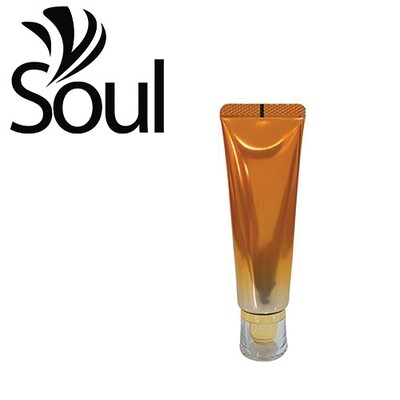 50g - Tube Orange with Clear Cap