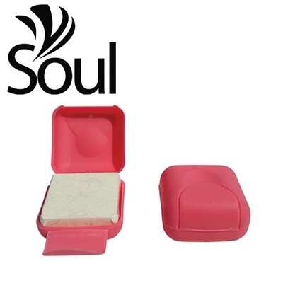 70g/100g - Travel Soap Box Pink