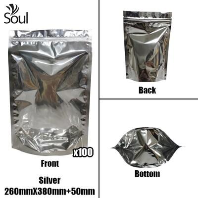 Triangle - Aluminium Side Seal Bag - Full - S - 260x380+50