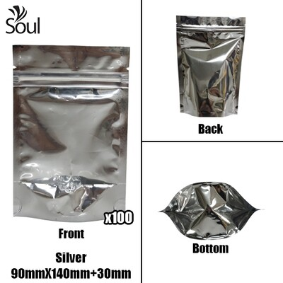 Triangle - Aluminium Side Seal Bag - Full - S - 90x140+30