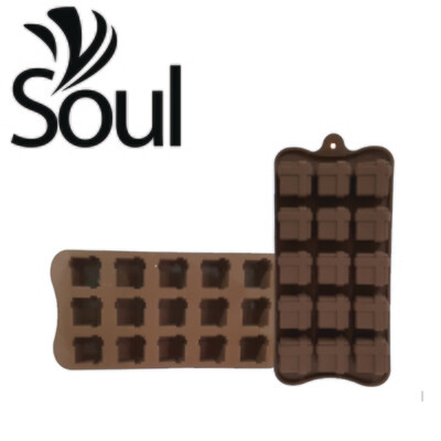SM - 15x15g Soap Mould Chocolate Box