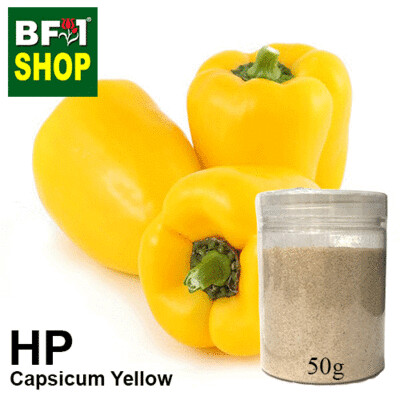 Herbal Powder - Capsicum Yellow Herbal Powder - 50g