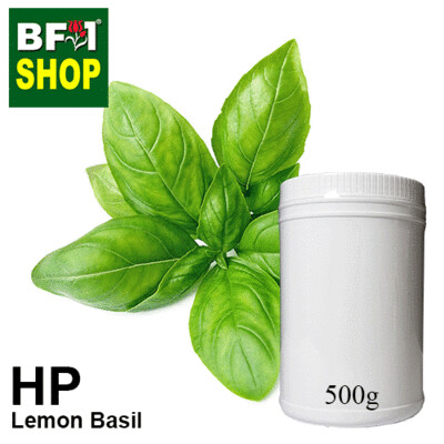 Herbal Powder - Basil - Lemon Basil Herbal Powder	- 500g