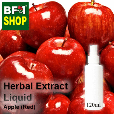 Herbal Extract Liquid - Apple (Red) Herbal Water - 120ml