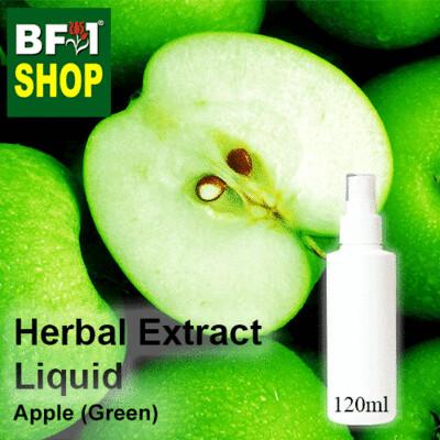 Herbal Extract Liquid - Apple (Green) Herbal Water - 120ml