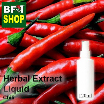 Herbal Extract Liquid - Chili Herbal Water - 120ml