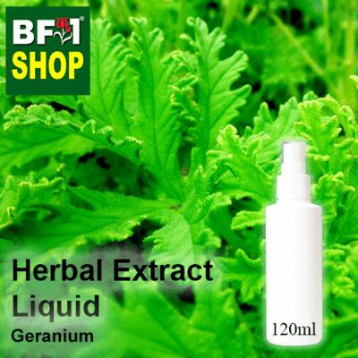 Herbal Extract Liquid - Geranium Herbal Water - 120ml
