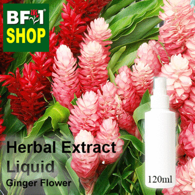 Herbal Extract Liquid - Ginger Flower Herbal Water - 120ml