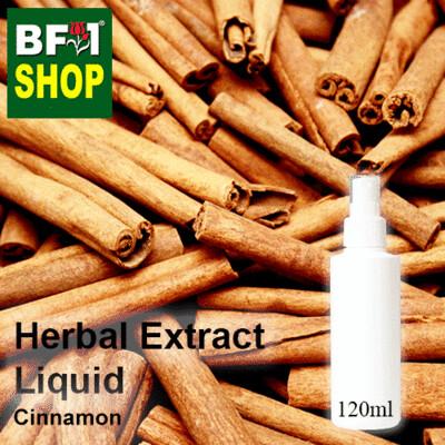 Herbal Extract Liquid - Cinnamon Herbal Water - 120ml