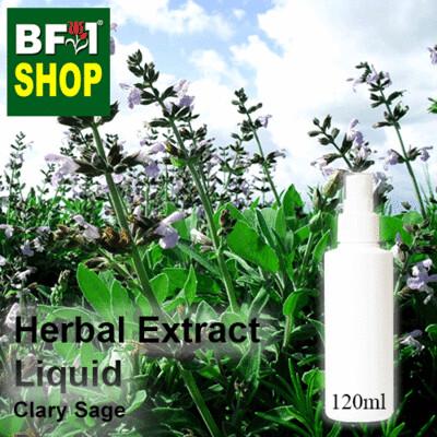 Herbal Extract Liquid - Clary Sage Herbal Water - 120ml
