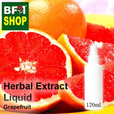 Herbal Extract Liquid - Grapefruit Herbal Water - 120ml