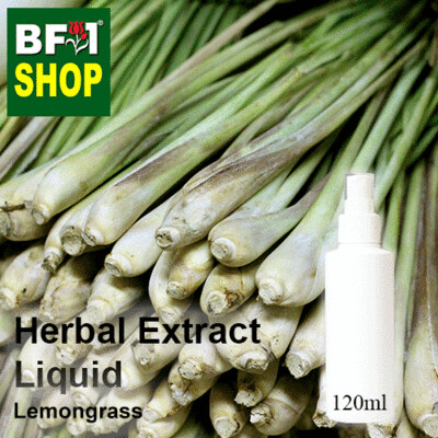 Herbal Extract Liquid - Lemongrass Herbal Water - 120ml