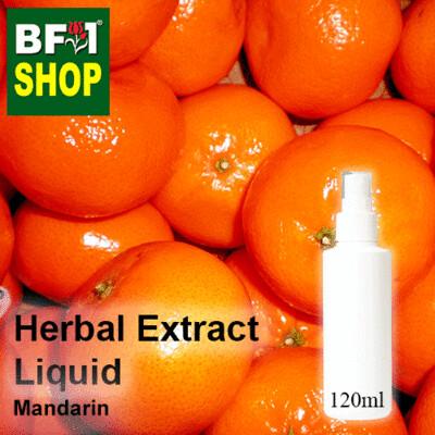 Herbal Extract Liquid - Mandarin Herbal Water - 120ml