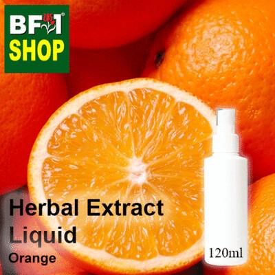 Herbal Extract Liquid - Orange Herbal Water - 120ml