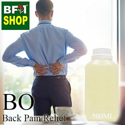 Blended Essential Oil (BO) - Back Pain Relief Essential Oil - 500ml